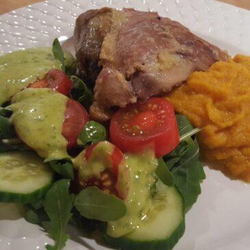 När du INTE vill fokusera på matlagning – Pärlhöna i crockpot