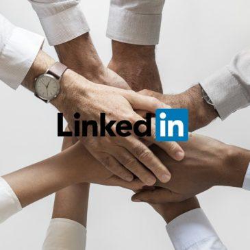 Nu finns vi även som företag på Linked-in