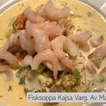 Fisksoppa Kajsa Varg