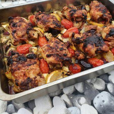 Allt i ett – Marockansk kyckling i ugn