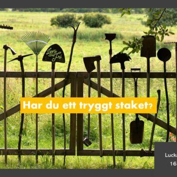 Lucka 16 – Bygg ditt staket